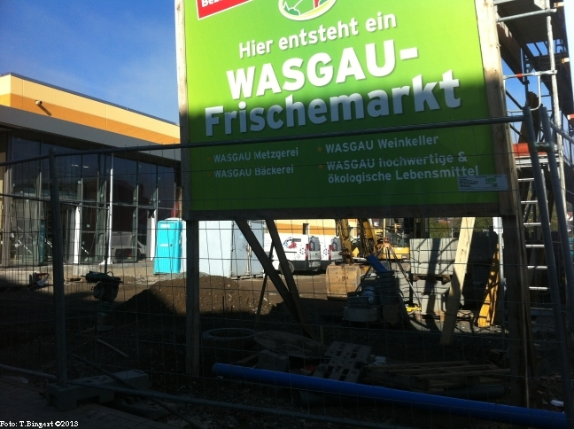 Bauarbeiten Anfang November