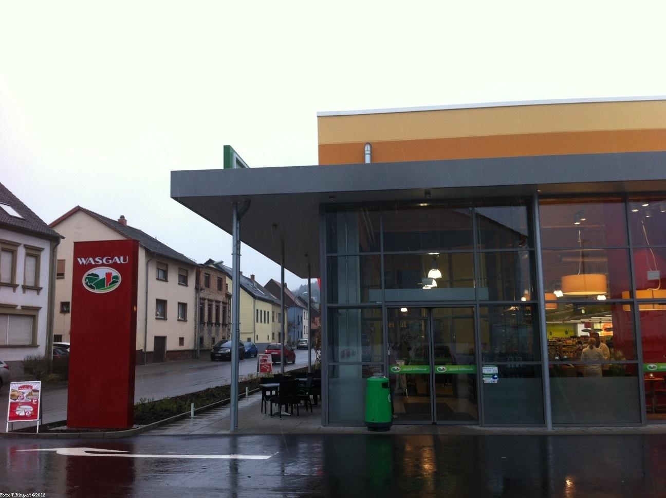 Der neue Supermarkt ist eröffnet!